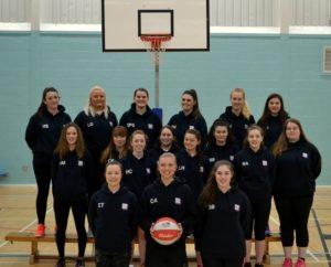 Bishop Grosseteste Ladies Basketball team Hoodies