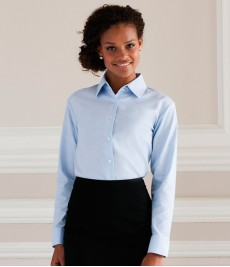 Oxford Shirts-Ladies Long Sleeve