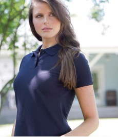 Poly Cotton Ladies Polo Shirts