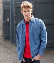 Leisure Shirts-Denim