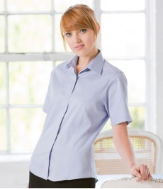Oxford Shirts-Ladies Short Sleeve