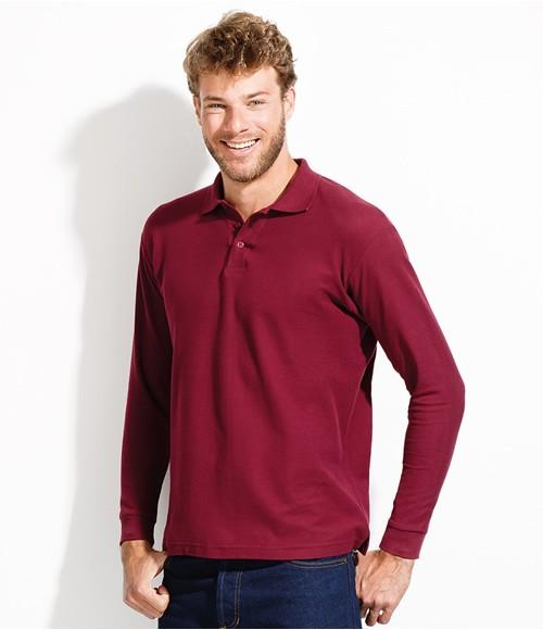 SOL'S Winter II Long Sleeve Pique Polo Shirt