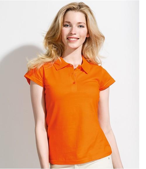 SOL'S Ladies Cotton Prescott Jersey Polo Shirt