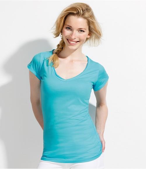 SOL'S Ladies Mild V Neck T-Shirt