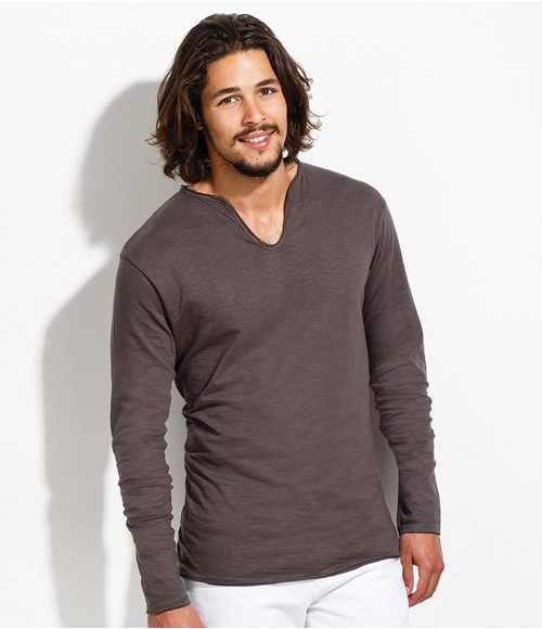 SOL'S Marais Long Sleeve Slub T-Shirt