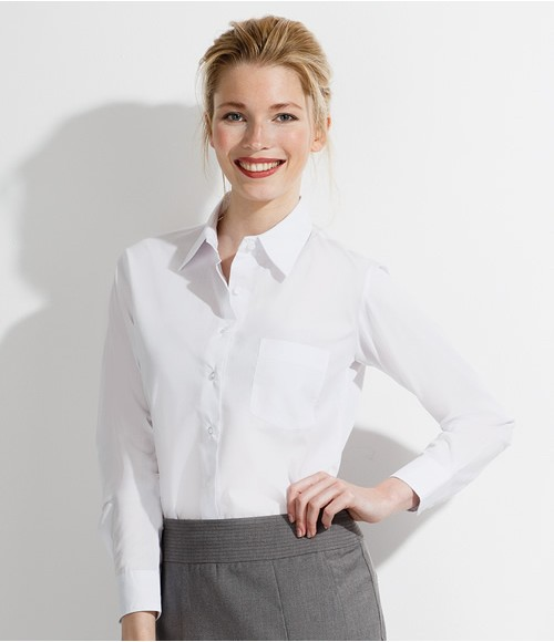 SOL'S Ladies Executive Long Sleeve Poplin Shirt