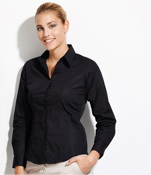 SOL'S Ladies Eden Long Sleeve Fitted Shirt