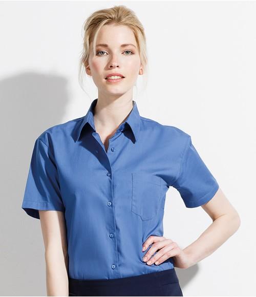 SOL'S Ladies Energy Short Sleeve Poplin Shirt