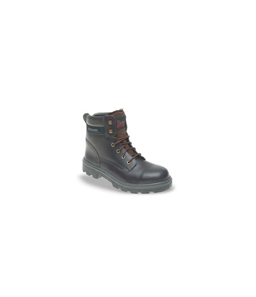 Toesavers 1901 Brown Leather Safety Boots - Dual Density Sole & Midsole