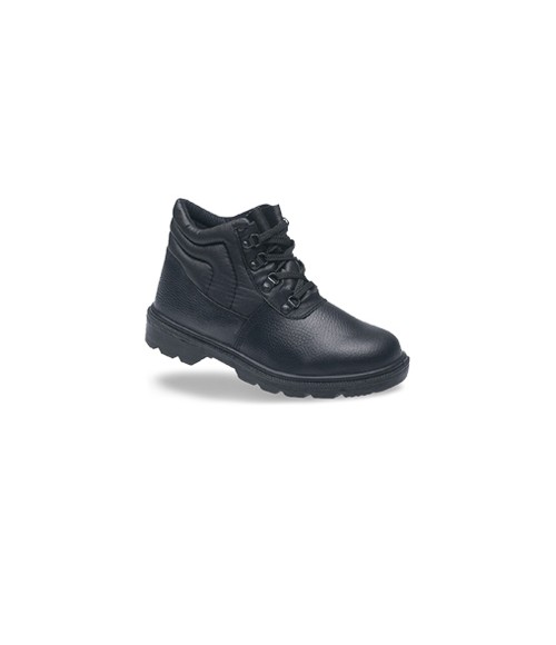 Toesavers 2415 Black Leather D-Ring Safety Boots