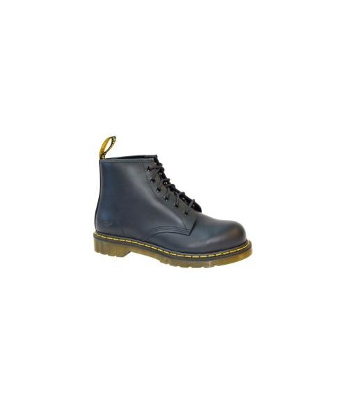 101ST-Dr Martens-Black 6 eye Safety Boot