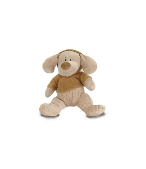 Metro 12'' Doogie Bear with Brown Fleece Top