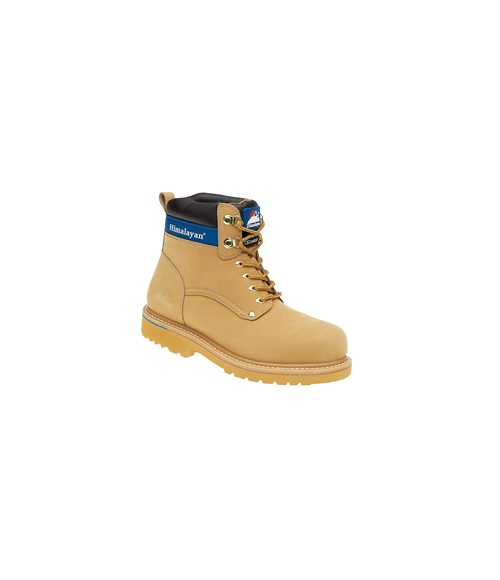 Himalayan 3402 Honey Nubuck Goodyear Welted Safety Boots - Steel Midsole