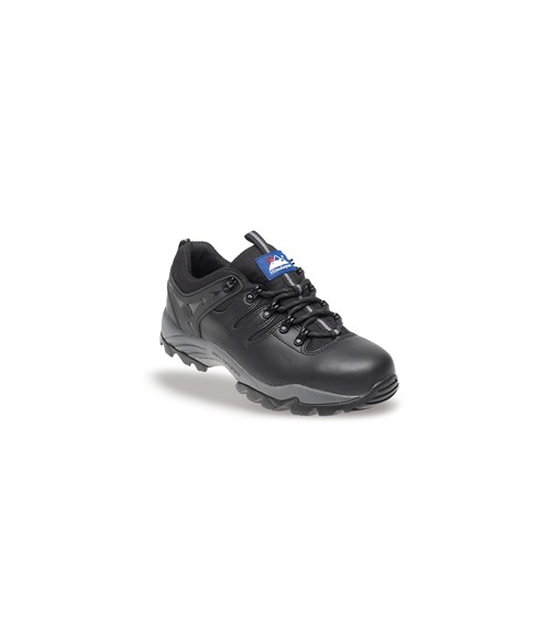 Himalayan 4020 Gravity®1 Black Leather Safety Trainers - Steel Midsole
