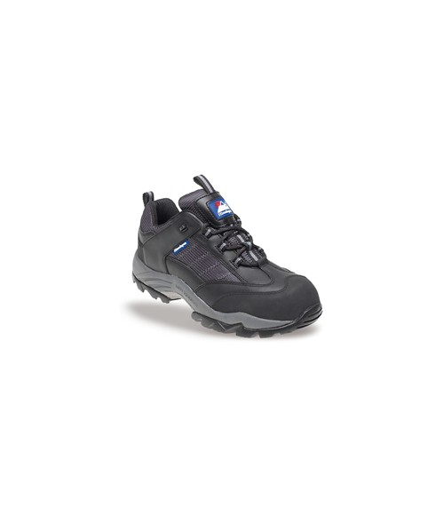 Himalayan 4030 Gravity®1 Black Leather/Nylon Safety Trainers - Metal Free