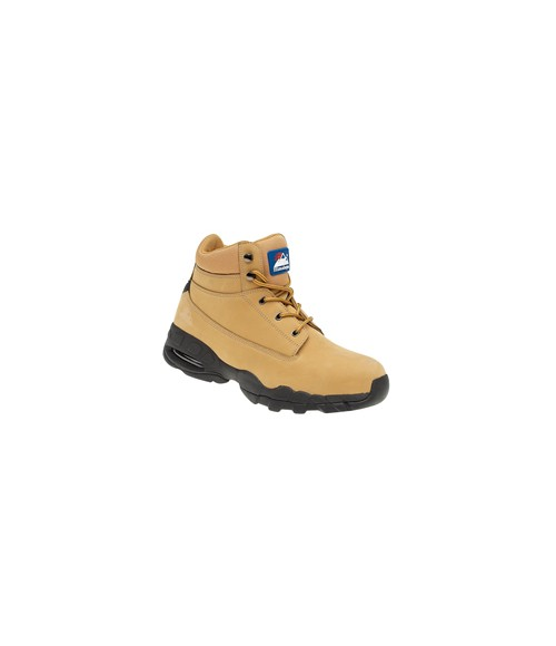 Himalayan 4050 Wheat Nubuck Safety Boots - EVA/Rubber Sole & Steel Midsole