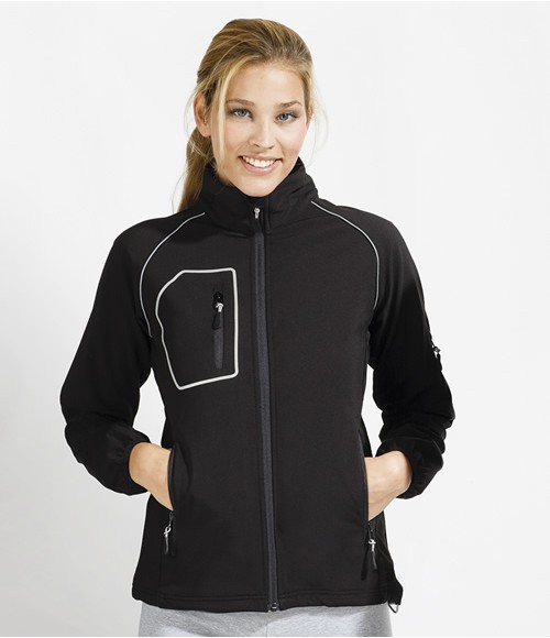 SOL'S Ladies Rapid Performance Soft Shell Jacket