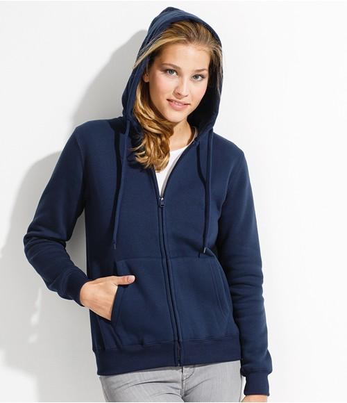 SOL'S Ladies Seven Zip Hooded Jacket