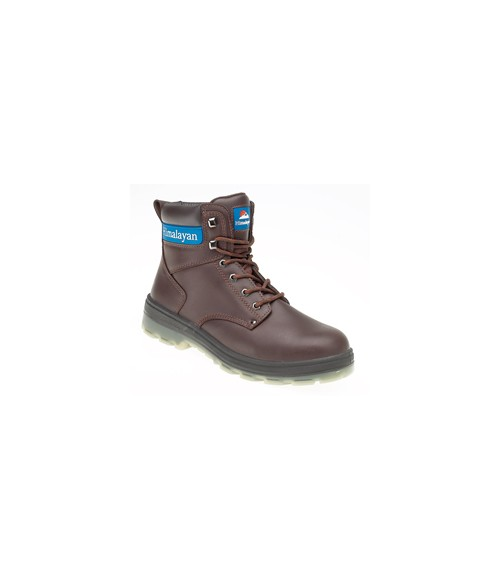 Himalayan 5016 Brown Leather Safety Boots