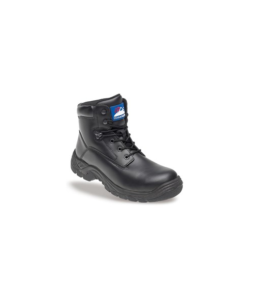 Himalayan 5070 Black Leather Safety Boots - TPU Sole & Steel Midsole