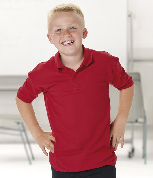 Jerzees Schoolgear Kids Poly/Cotton Pique Polo Shirt