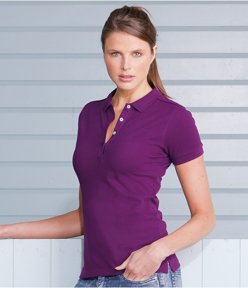 Russell Ladies Stretch Pique Polo Shirt