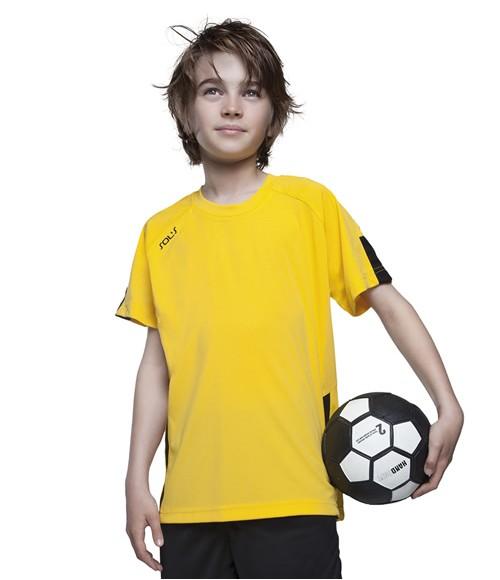 SOL'S Kids Wembley Short Sleeve football Shirt