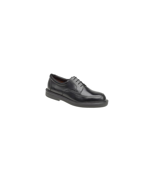 Himalayan 9710 Executive Black Leather Safety Shoes with Dual Density Sole