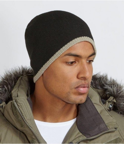 BB44C Beechfield Two Tone Pull-On Beanie