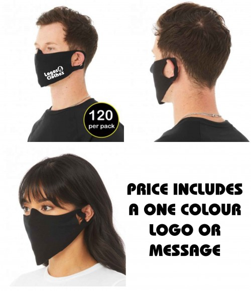 ST323 Bella+Canvas Daily Lightweight Fabric Face Cover