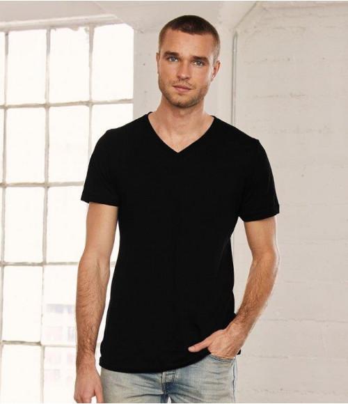 CV3005 Canvas Unisex Jersey V Neck T-Shirt