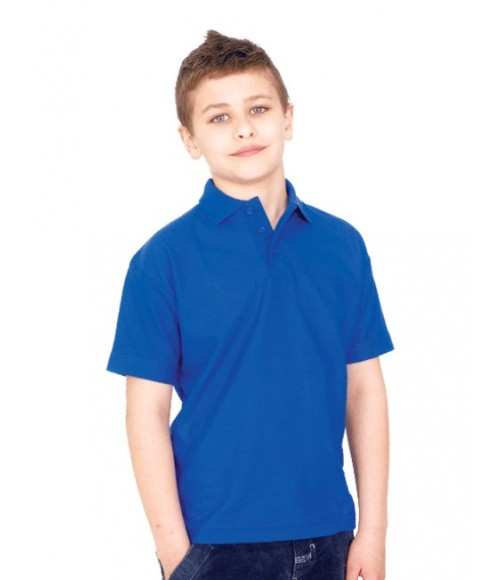 Childrens Pique Polo Shirt