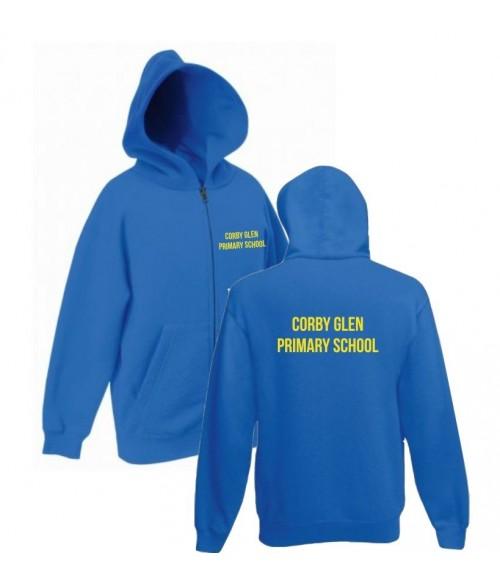 Corby Glen CP School-Zip Hoodie
