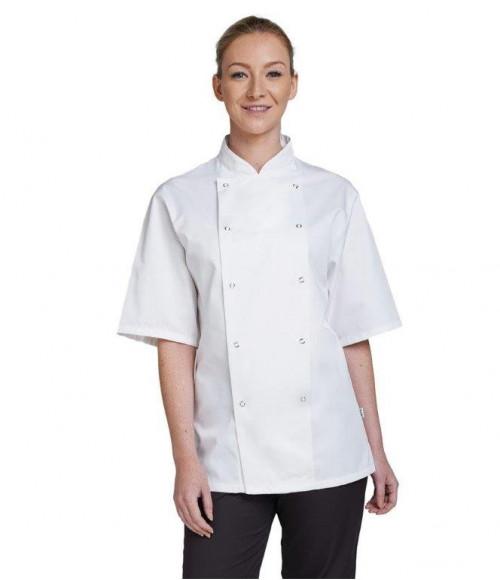 AF002 Dennys Short Sleeve Chef's Jacket