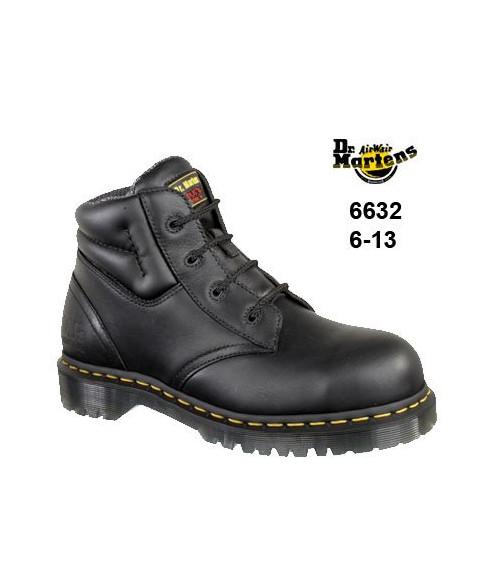 Dr Martens- Airwair, 6632 Icon Black Chukka Safety Boots - SAF Sole