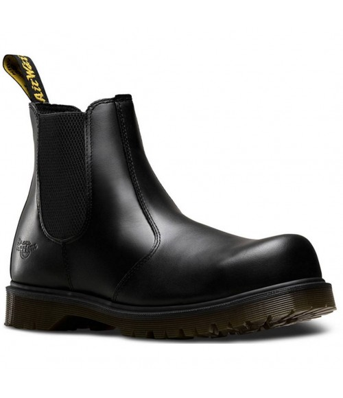 2029 DR MARTENS  Icon Black Smooth Leather Dealer Safety Boot