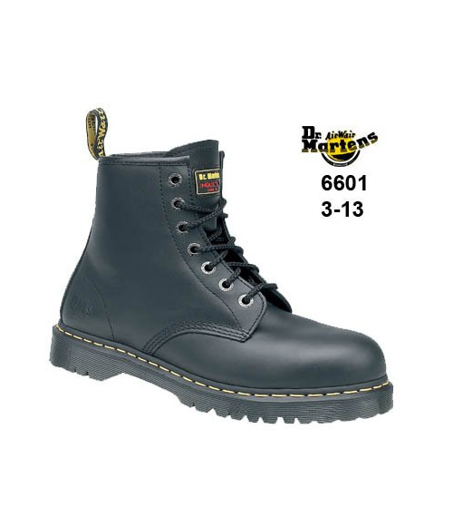 Dr Martens 6601- Airwair 7 eyelet lace Safety Boot