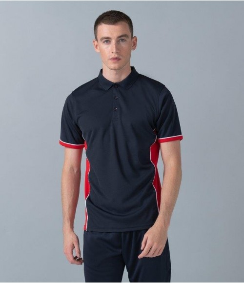 LV355 Finden and Hales Contrast Panel Polo Shirt