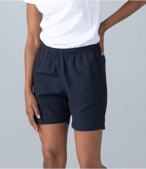 LV831 Finden and Hales Ladies Microfibre Shorts
