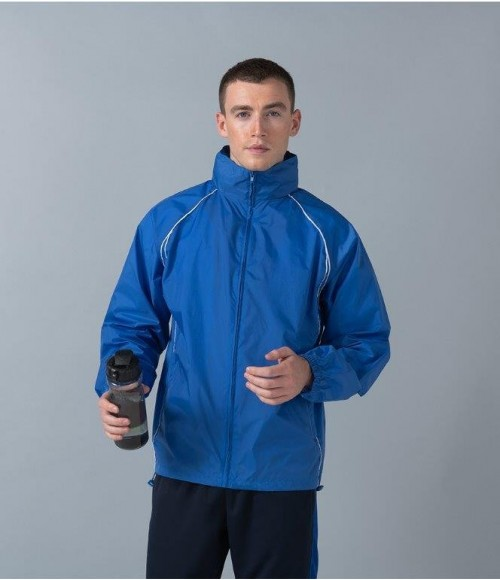 LV610 Finden and Hales Lightweight Showerproof Training Jacket