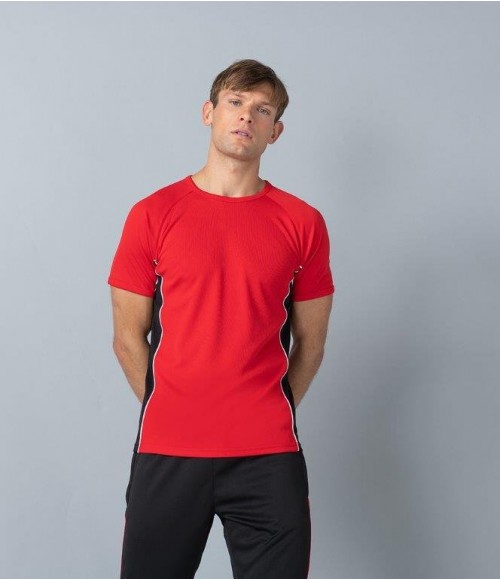 LV240 Finden and Hales Performance Panel T-Shirt
