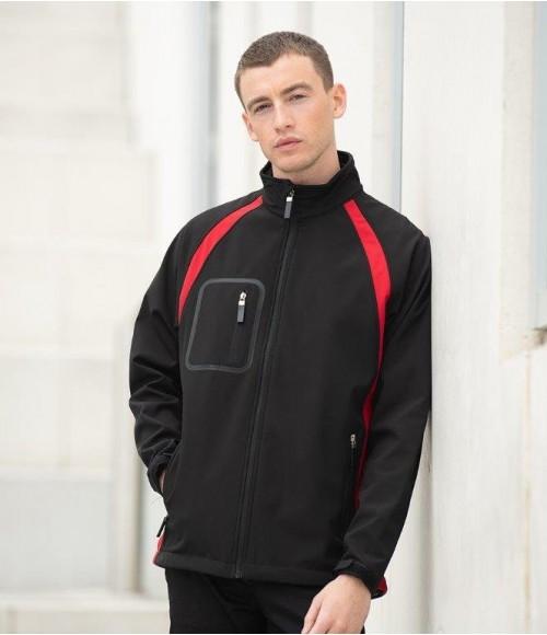 LV620 Finden and Hales Team Soft Shell Jacket