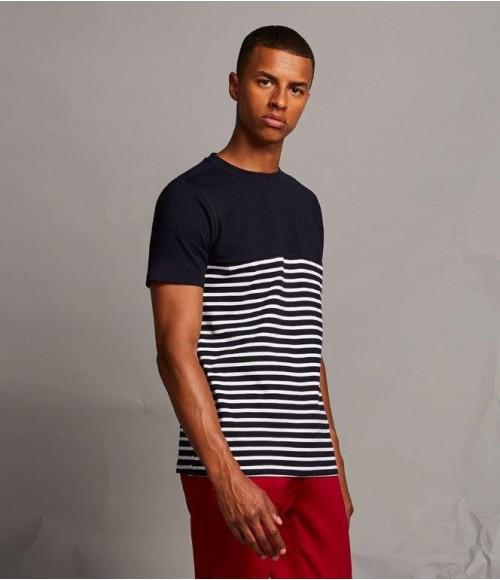 FR135 Front Row Breton Striped T-Shirt
