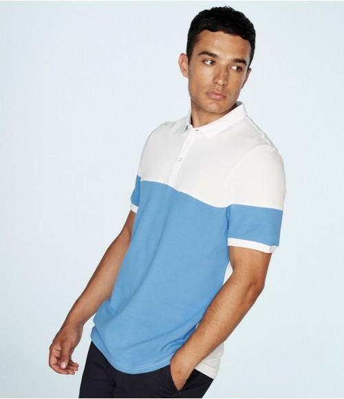 FR240 Front Row Contrast Stretch Piqué Polo Shirt