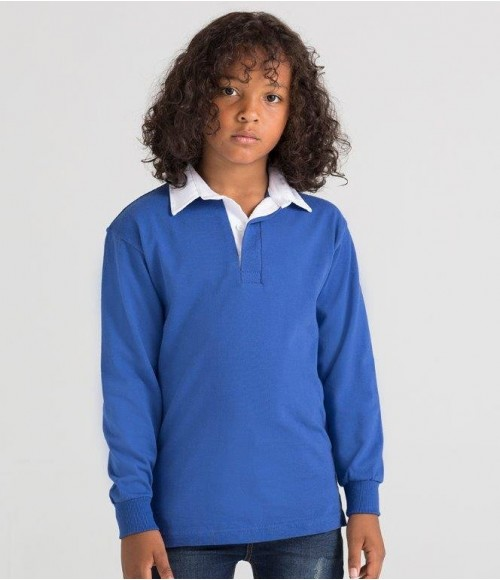 FR109 Front Row Kids Classic Rugby Shirt