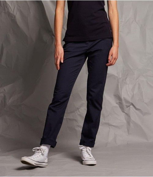 FR622 Front Row Ladies Stretch Chino Trousers