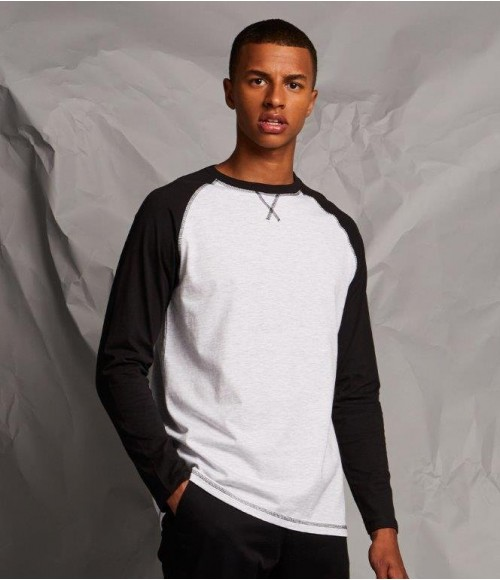 FR140 Front Row Long Sleeve Baseball T-Shirt