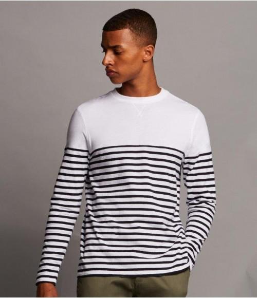 FR134 Front Row Long Sleeve Breton Striped T-Shirt