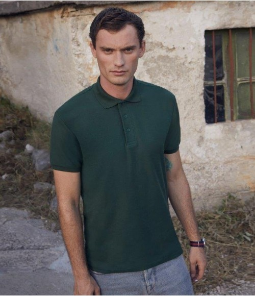 SS27 Fruit of the Loom Heavy Poly/Cotton Pique Polo Shirt