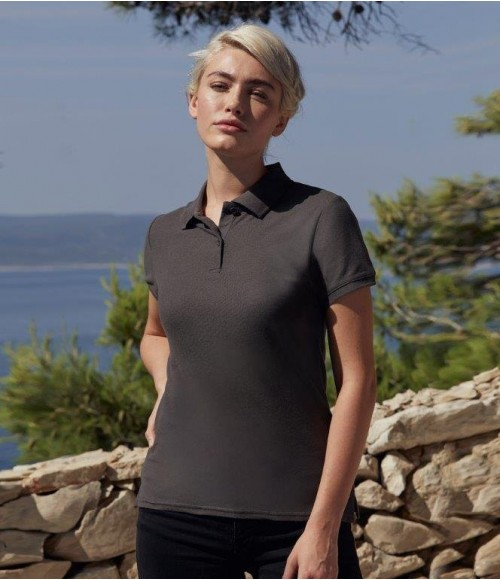 SS89 Fruit of the Loom Lady-Fit Premium Cotton Pique Polo Shirt